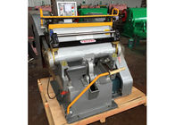 Chiny Semi Automatic Paper Die Cutting Machine High Strength With Electrical System firma