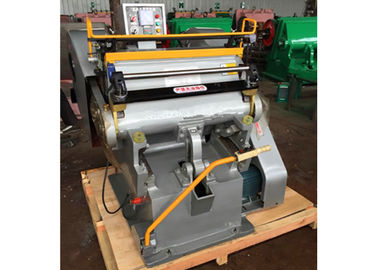 Semi Automatic Paper Die Cutting Machine High Strength With Electrical System