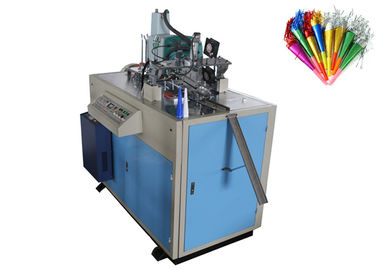 Chiny PE Coated Paper Horn Forming Machine Ultrasonic Configuration Energy Saving dystrybutor